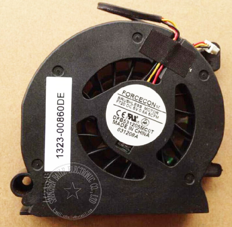 Brand new cooling fan for DELL XPS M1210 PP11S cpu fan, original M1210 laptop cpu cooling fan computer accessories Good Quality