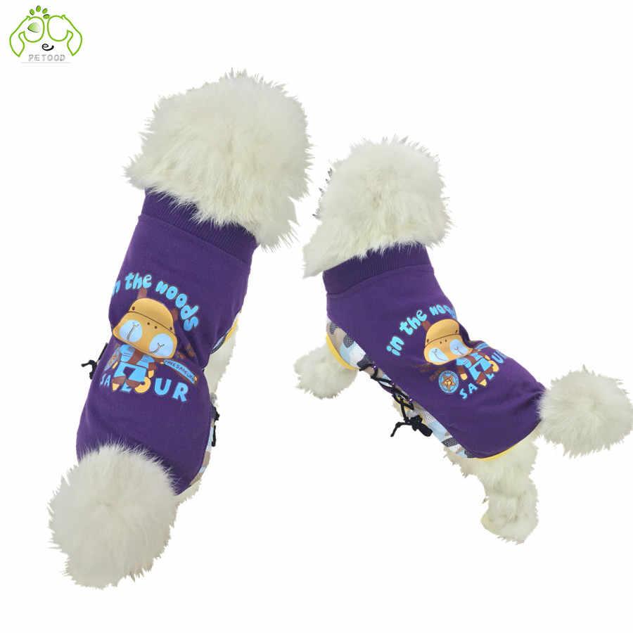 Ropa de verano para perros ropa de gato camiseta para mascotas para animales grandes pequeños Chihuahua caniche cachorro XS-XXL de alta calidad