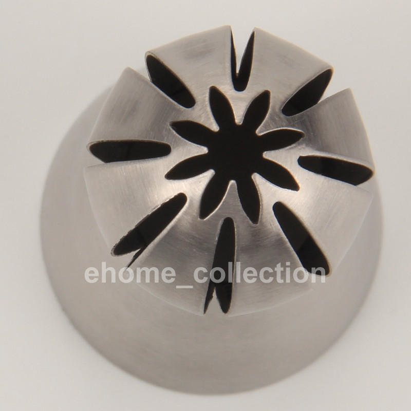 Ball Shape Stainless Steel Russian Icing Piping Nozzles