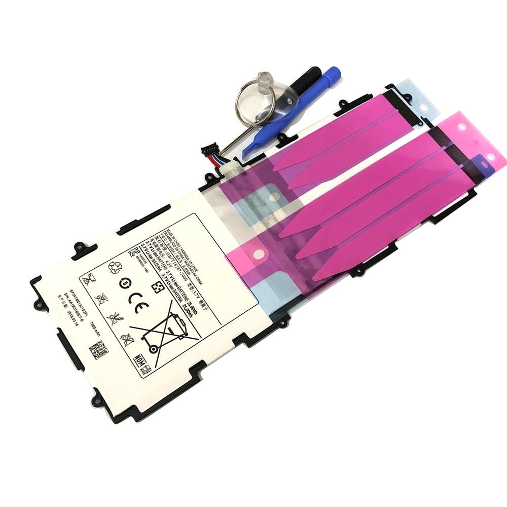 2018 Per Samsung GALAXY P5100 5110 P7500 P7510 N8000 N8010 N8020 Batteria Del Telefono Mobile Bordo SP3676B1A Sostituzione Li-Ion 7000 mah