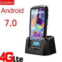 Смарт мобильный телефон портативный терминал КПК с bluetooth 4,0 3 г 4G android устройство для чтения штрих кодов 1D 2D QR с 8MP камеры gps NFC вариант