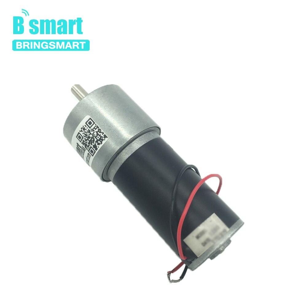 Bringsmart 37GB31Y 12V 24V DC Getriebe Motor Permanent Magnet Rohr Elektrischer Motor Minderer Reverse Hohe Drehmoment Mini Motor motor