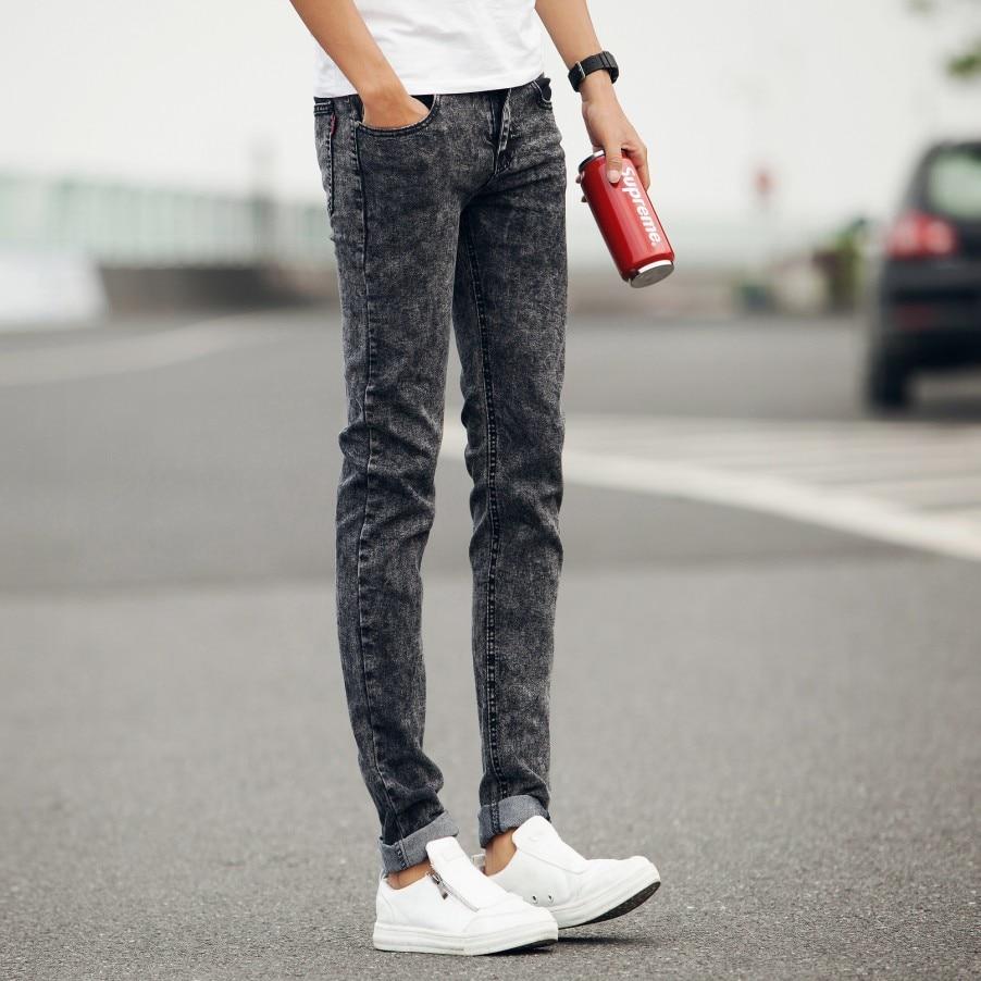 Grey Snow Skinny Jeans Men Denim Pants Slim Fit Trousers Vintage Pantalones Vaqueros Hombre Jeans Homme Calca Jeans Masculina Jean Manufacture Pants Pricejean Case Aliexpress