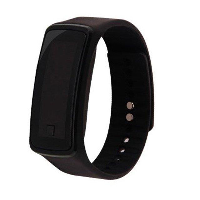 Fashion Silicone Gel Children Kids LED Digital Wrist Watch Lightweight Sports Br