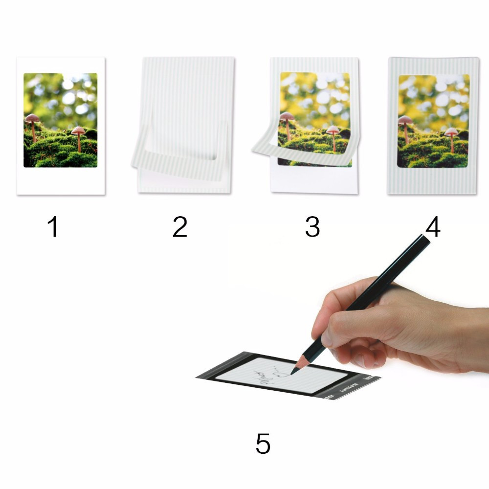 Fujifilm Instax Mini 9 8 7s Аксессуары для фотокамер настенные рамки фоторамки наклейки маркер ручка пряди