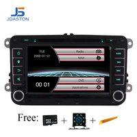 JDASTON автомобильный dvd плеер с двумя цифровыми входами для Skoda Volkswagen VW Passat B6 Polo Golf, Touran Sharan Jetta Caddy T5 Tiguan сиденье навигационный GPS радиоприемник