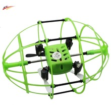 RC Drone 2.4G 4CH 6-Axis Gyro RTF Mini Remote Control Quadcopter 360 Degree Flips Rugby Football With 3D Flips and Wall Climbing