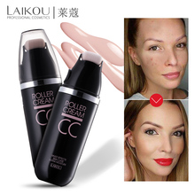 Brand LAIKOU Roller CC Cream Makeup Concealer Multi Effects Face Skin Care Moisture Foundation Cosemtics Natural Ivory Make Up