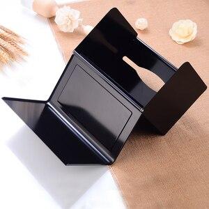 Image 5 - Scatola di Carta igienica Supporto di carta con Scaffale Creativo di Alluminio Nero Porta Asciugamani di Carta Decorativa Bagno Rotolo di Carta Holder Fissato Al Muro