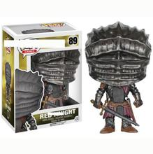 FUNKO POP Anime Dark Souls 3 Collectible Model Toys Red Knight Vinyl Movie Action Figures Boy
