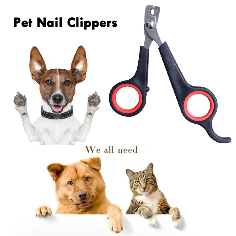 Pet Nail Scissors Pet Nailclippers Cats Dogs Nails Clippers Trimmer Pet Nail Claw Grooming Scissors Cutter