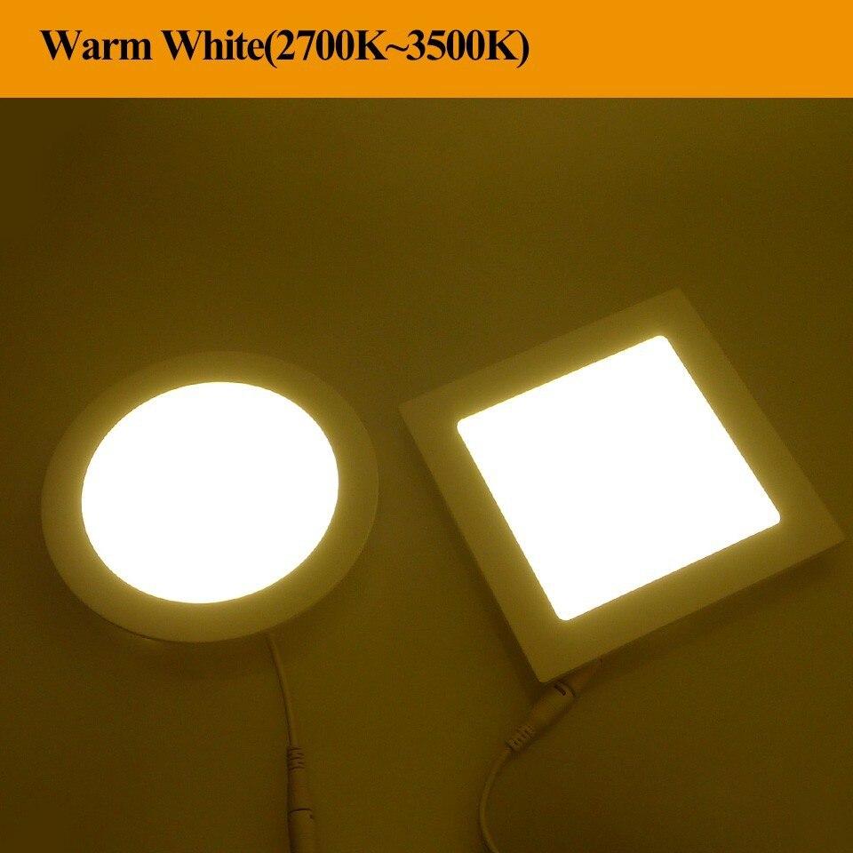 LED Downlight 3W 4W 6W 9W 12W 15W 18W 24W AC85~265V LED Bathroom ...