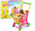 Baby Pretend Play Toys Supermarket Shopping Handcart Holder Utility Cart Mini Children Supermarket Shopping Cart Toy