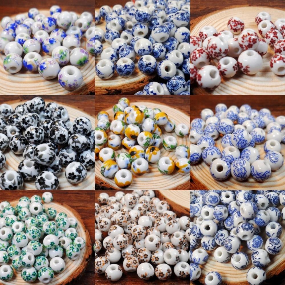 Perlen kaufen  Online Kaufen Großhandel porzellan blume perlen aus China ...