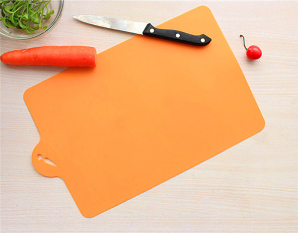 Kitchen Chopping block Different Use Flexible Plastic Cutting Board Antibiotic Resistant Portable Chopping Board