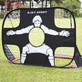 110*80*80cm Portable Folding Children Football Goal Door Set Football Gate Outdoor Sports Toys Kids Soccer Door Set Cool Gifts