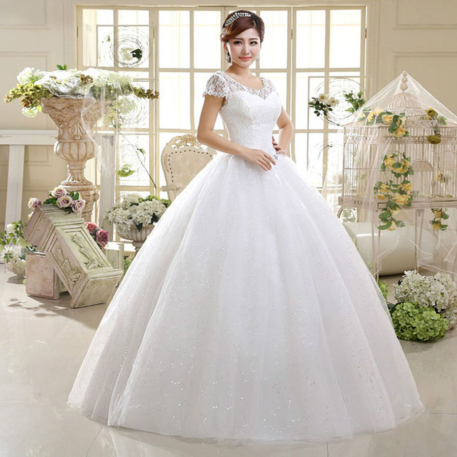 Sexy Lace Backless Bride Ball Gown Red Wedding Dress Women Plus Size Bandage Cheap Wedding Dresses Made In China WED90129