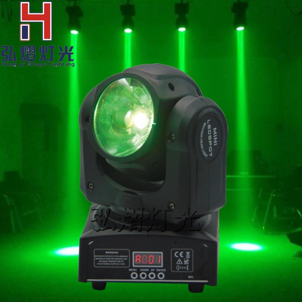 (1 шт./лот) 60 Вт Moving Head пятно света RGBW 4in1 луч DJ ночные клубы оборудования DMX512 Китай 60 Вт перемещающаяся головка s