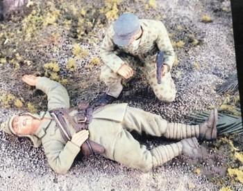 1 35 skala WW2 wojny na pacyfiku japoński korpusu i usa żołnierz 2 ludzie miniatury ii wojny światowej żywicy zestaw modeli do składania rysunek darmowa wysyłka tanie i dobre opinie Z żywicy Film i telewizja 1 35 us 8 lat miniatures Unisex FPJ TOYS resin model resin kit resin soldier figure