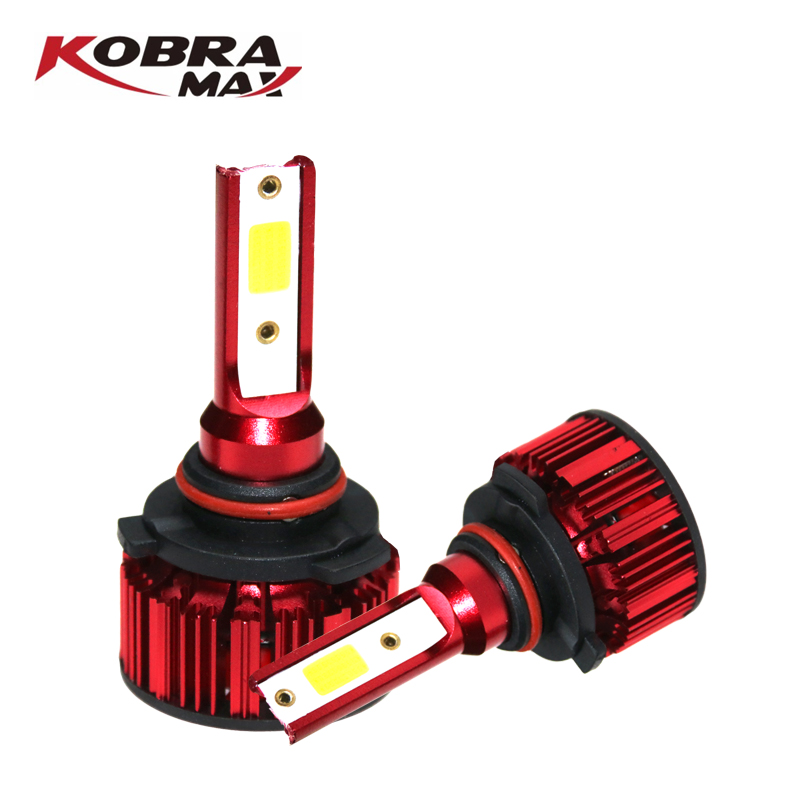 KobraMax LED Car Headlight 9005/HB3/H10 H4/HB2/9003 8000LM 6500K 12V Auto Fog Light For Car