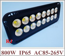 800W super power and bright with cup reflector LED flood light floodlight waterproof 800W (16*50W) AC85-265V 64000lm IP65 CE