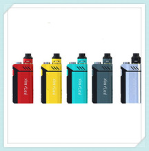 Original ijoy rdta cuadro 200 w cigarrillo electrónico starter kit con 12.8 ml e-jugo capacidad atomizador compatible con combo tank