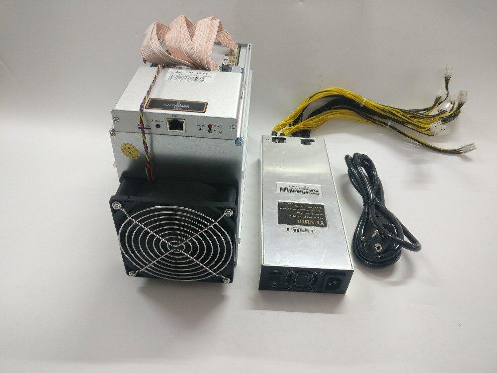Envío Gratis se AntMiner T9 + 10,5 T Bitcoin minero con PSU Asic minero más 16nm BCC BCH minero Bitcoin máquina de minería - 3