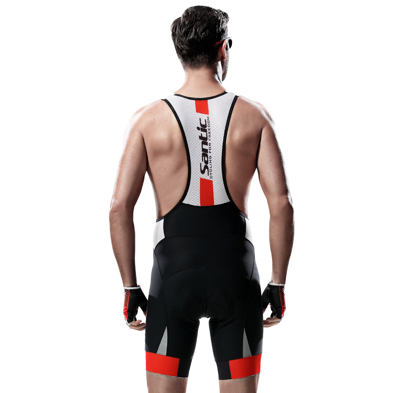 Santic Men Cycling Shorts Summer Mountain Road Bike 4D Coolmax Padded Shorts Breathable Bicycle Shorts Bermuda Ciclismo-in Cycling Shorts from Sports & Entertainment    2