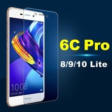Защитное стекло Honor 6C Pro 6 C закаленное для huawei 8 9 10 Lite светильник 5A на экран протектор Glas защита a5 пленка защита