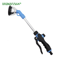Nine-functions Long rod spray gun Hose nozzle guns Garden irrigation Watering flowers car wash water gun jet washing clean tool