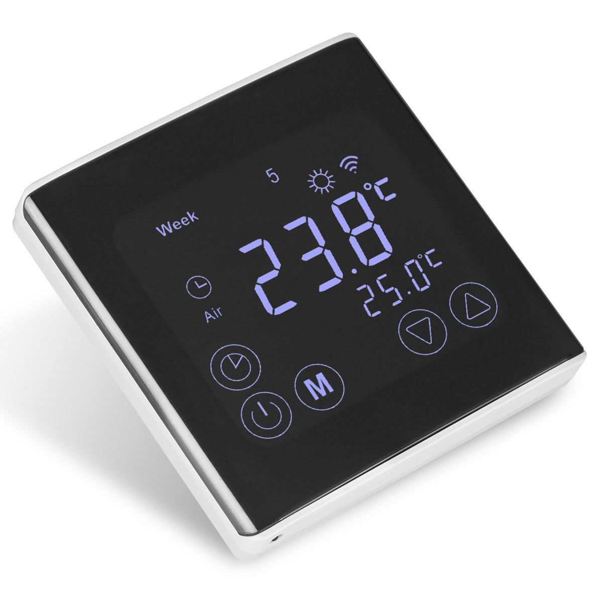 Digital thermostat wifi electrical gang box