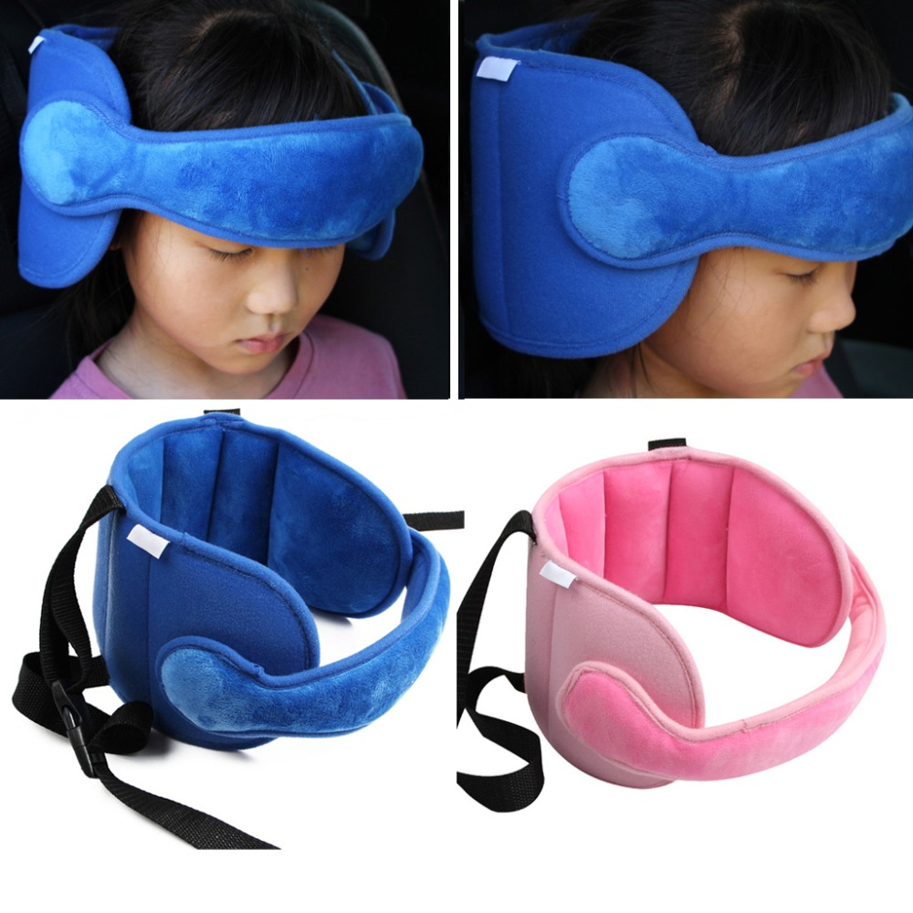 Baby Safety Pillow Head Fixed Sleeping Pillow Car Seat Kid Head Neck Protection AUG18-B