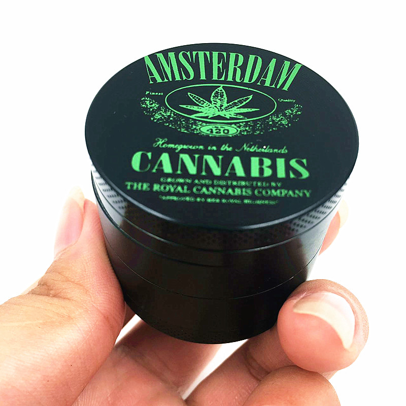 4 Piece Hot New Crusher Weed Tobacco Grinder Weed Herb