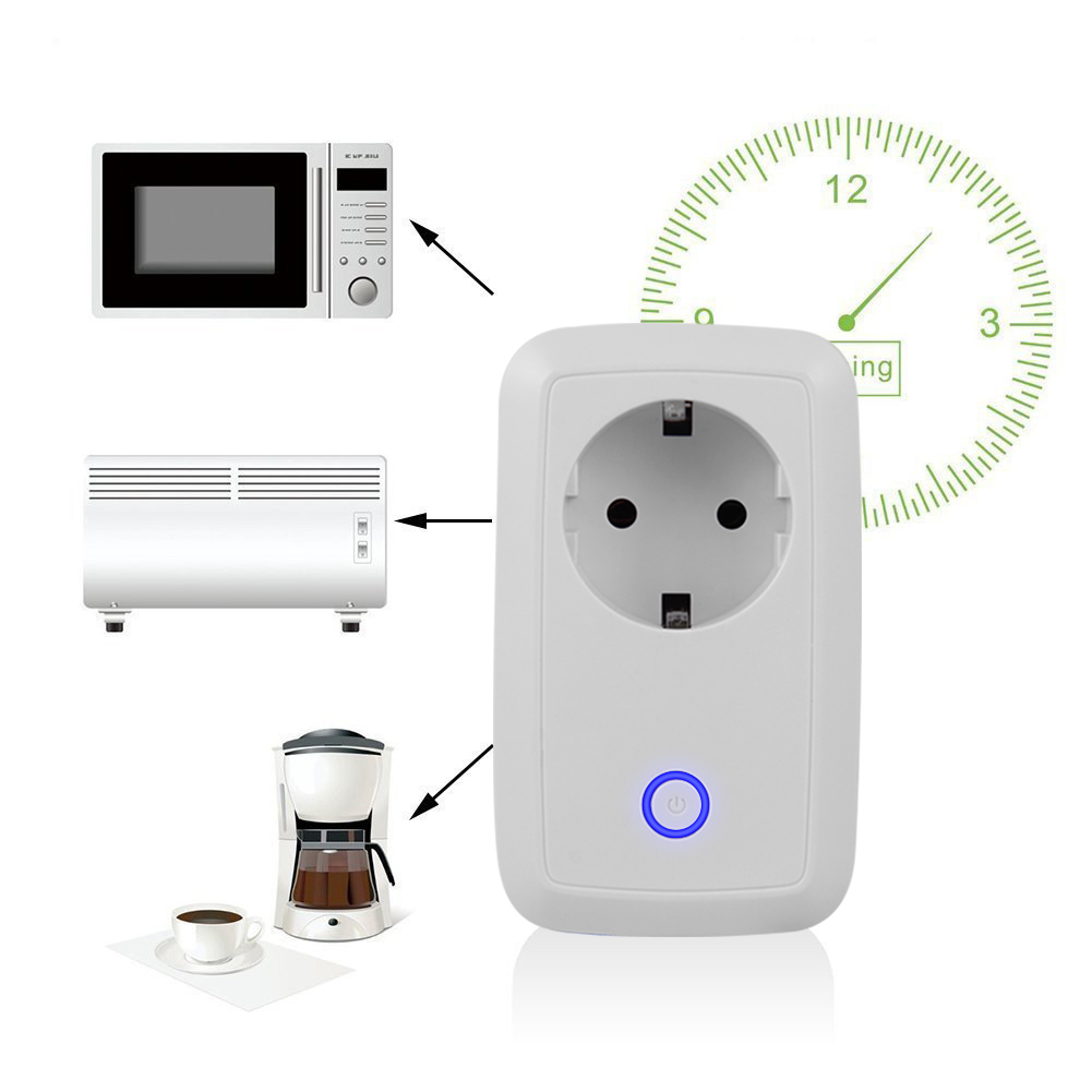 Wireless Wifi Intelligent Plug Potable Smart Power Socket