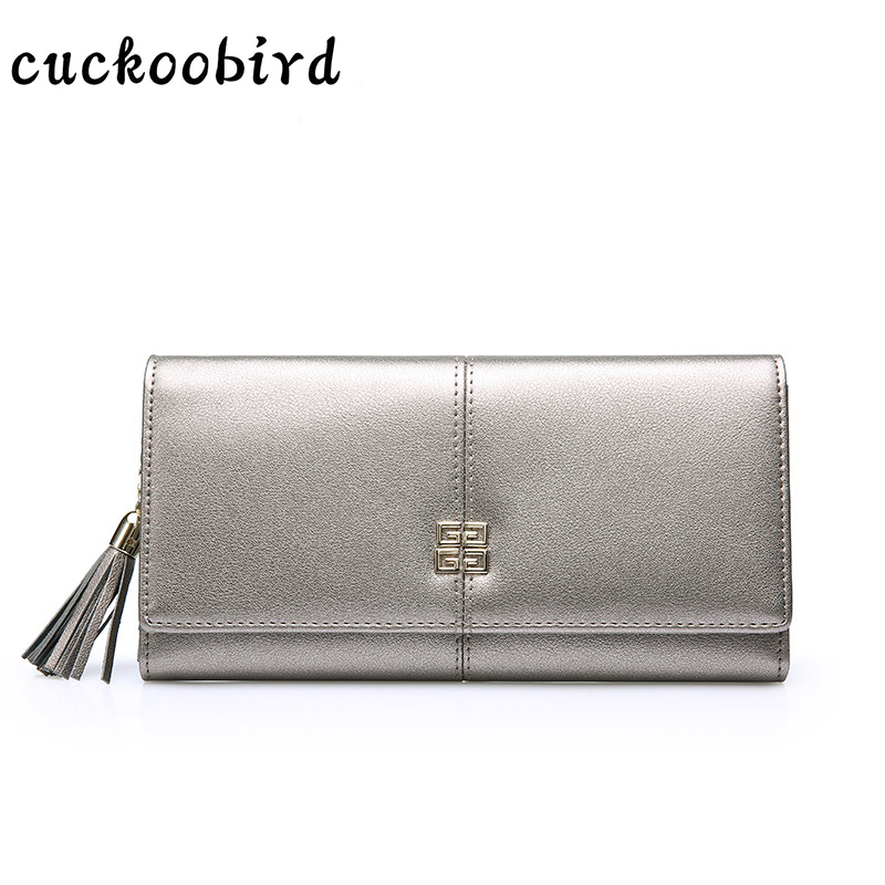 Genuine Leather Wallet Women Card Holders Clutch Money Bag Luxury Female Carteira Feminina Long Wallets Ladies Hasp Purse new brand genuine leather purse for women real leather women s wallet clutch bag women long wallet purse carteira 2016