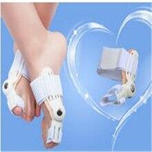 2Pair Toe Straightener Foot Pain Relief Big Toe Separator Corrector Straightener Bunion Splint Hallux Valgus Orthopedic Adjuster