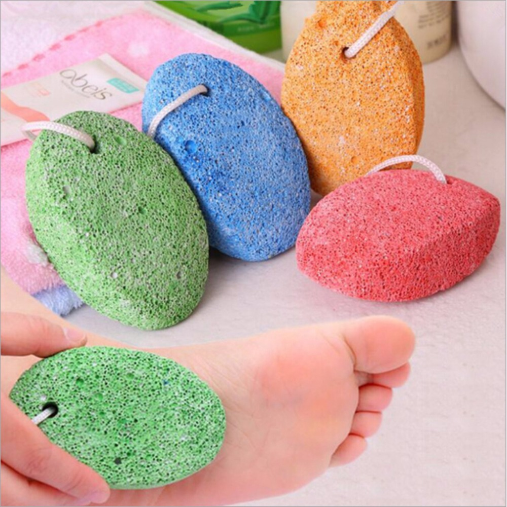 Beauty & Health Nails Art & Tools 4 In 1 Foot Wand Foot Care Tool Including Pumice Stone Nail Brush Foot File Callus Reducer Feet Dead Skin Removed Tools Sturdy Construction