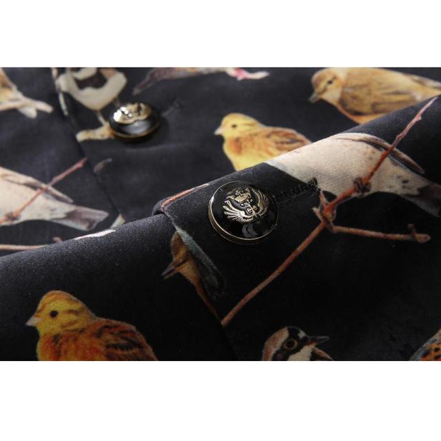 Men Blazer Casual Jacket 2016 Mens Floral Print Suit Blazer Single Breasted Slim Fit Blazer Hombre Stage Jacket Prom Dress Q214