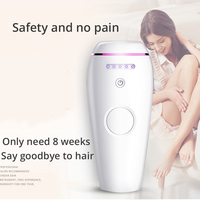 Women IPL Laser Epilator Safe 500,000 Flashes Professional Recharageable Hair Trimmer 5 Modes Lady Body Shaving Hair Removal