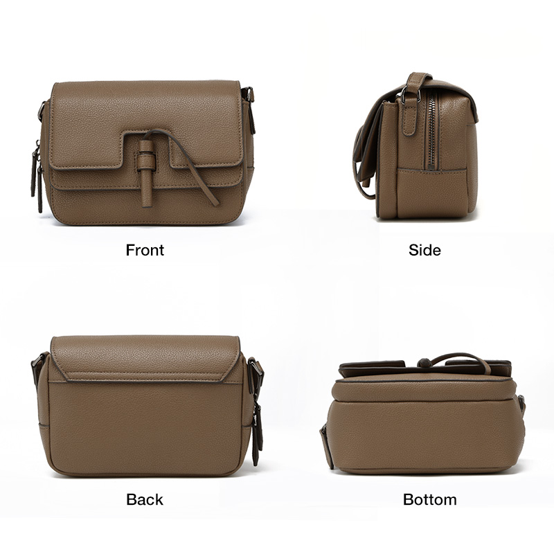 FOXER Marke frauen tasche Neue Mode Split Leder Umhängetasche Messenger Tasche für Frauen Weibliche Schulter Taschen-in Schultertaschen aus Gepäck & Taschen bei  Gruppe 2