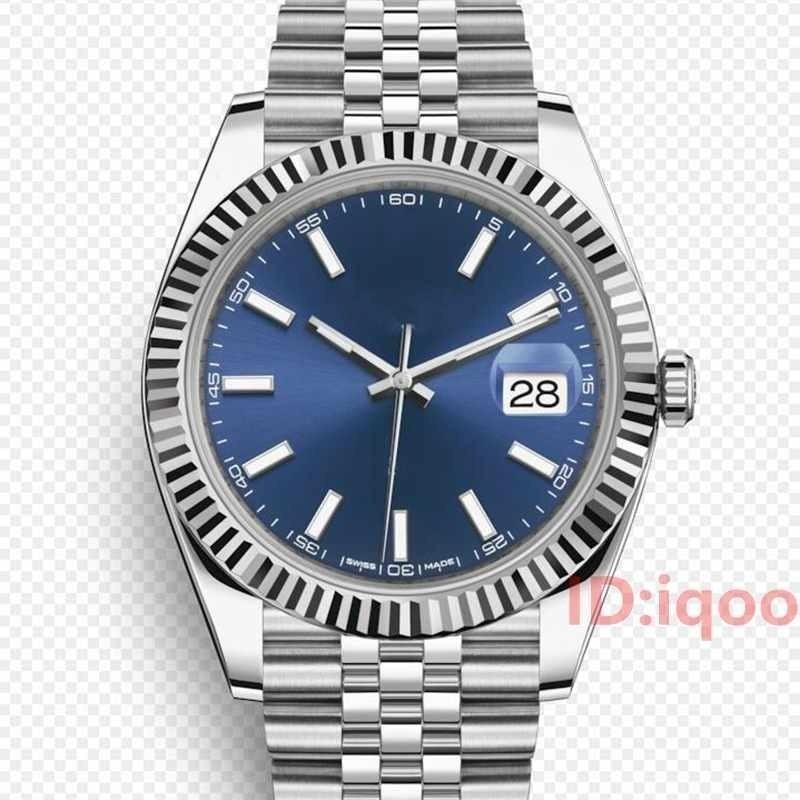 41 Mm Automatic Luxury Brand Mechanical DARK RHODIUM JUBILEE BRACELET Men Mens Designer Wristwatches Sports Watches Man Watch