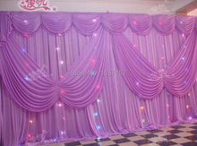 10ft*20ft Butterfly Backdrop Wedding Backdrop for Wedding Decoration Stage Backdrop with Detachable Swag