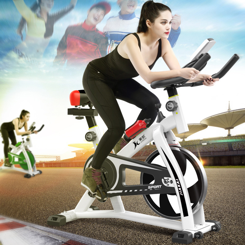 Hot Home dynamic cycle machine ultra quiet home fitness bike indoor exercise bicycle weight loss fitness equipment цена