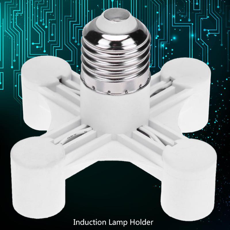 E27 для E14 3/4 СВЕТОДИОДНАЯ головная лампа держатель лампы база для светильник лампы гнездо адаптера Splitter винт Индукционная лампа держатель Основание светильника