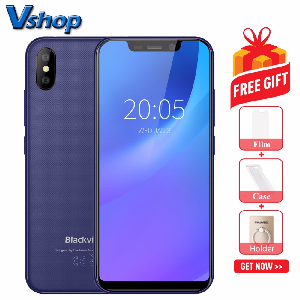 Original Blackview A30 3G WCDMA Mobile Phones Android 8 1 2GB 16GB Quad Core Smartphone Dual