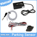 Wholesale Lowest Price Car Electromagnetic Parking Sensor No Holes\Easy install Parking Radar Bumper Guard Backup Reversing Park