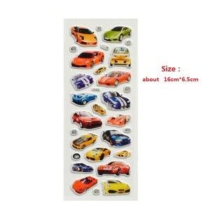 Image 4 - Autocollants à bulles 3D, étiquette voiture, moto, étiquette Scrapbook pour ordinateur portable et téléphone portable pour enfants, 10 pièces/lot