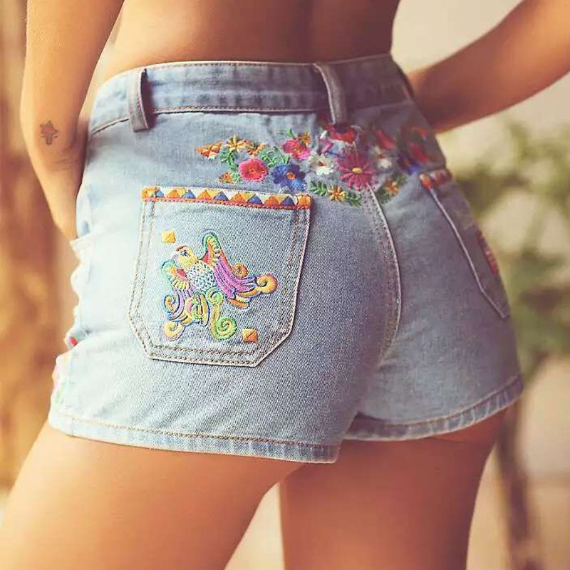 Popular Cut Off Denim Jean Shorts-Buy Cheap Cut Off Denim Jean