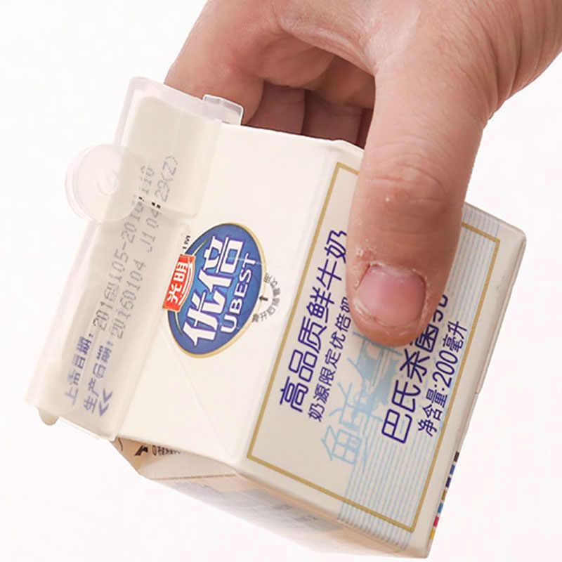 2 Pcs/Lot Milk Seal Clips Multi-Functional Snacks Sealed Clips Keeping Food Fresh Sealed Food Close Clip Box Folder