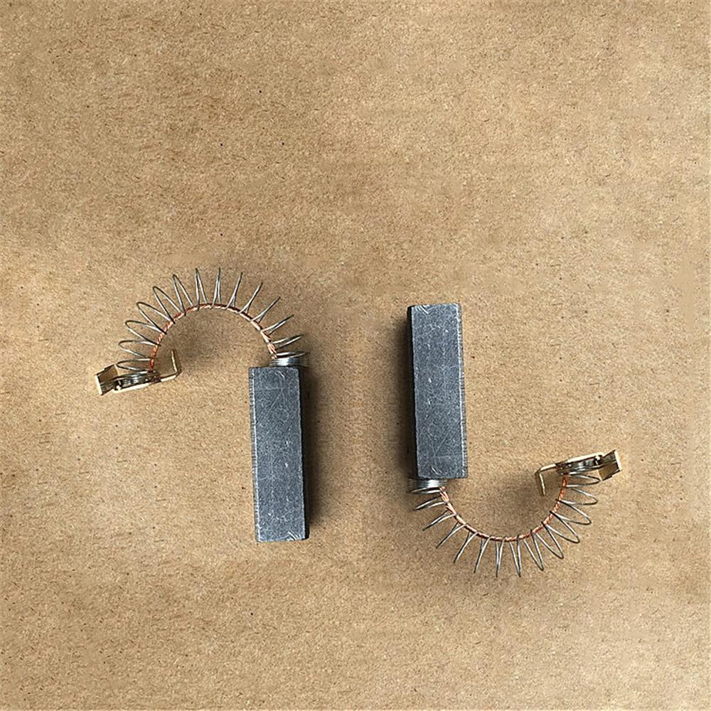 2 uds. Cepillos de carbón del Motor para Philips Midea Haier Sanyo Puppy LG ROWENTA etc aspiradora 6,5x10x32mm cepillo de polvo de grafito
